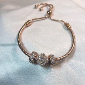 Pandora Gold slider bracelet